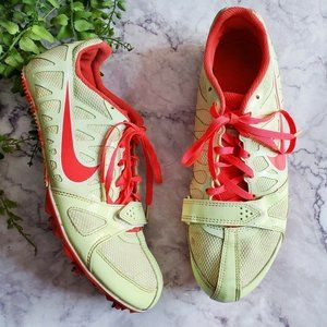 Nike Zoom Rival S Neon Yellow Sprint Running Shoes